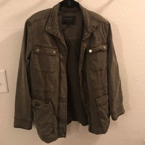 Lucky Brand jeans hunter green jacket